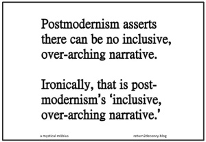 postmodernism meme