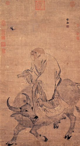 Lao Tzu Riding_an_Ox