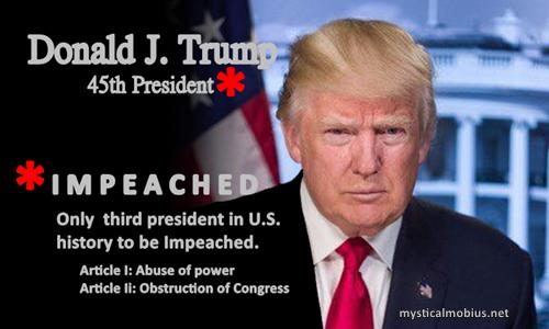 trump Impeached meme 500