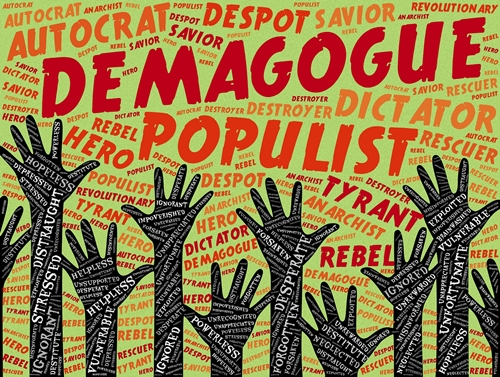 Demagogue - Image by John Hain