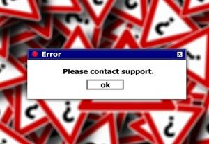 Incorrect - Error Get Support Image by Gerd Altmann