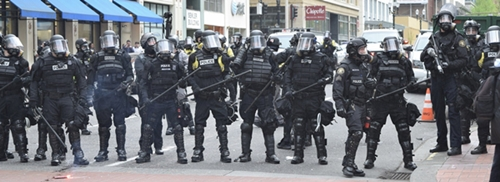 Riot Police - Image by joanbrown51