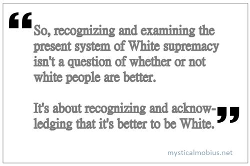 White supremacy - cutout meme