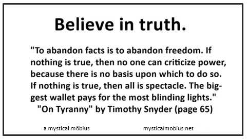 believe in truth