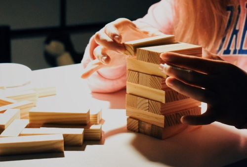 Jenga - Photo by Outer Digit on Unsplash