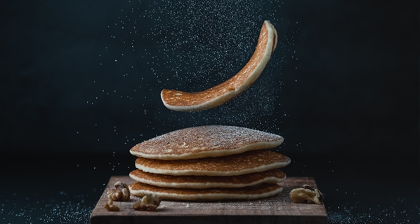 pancakes - Photo by Mae Mu on Unsplash